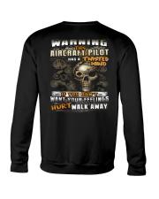 Aircraft Pilot Crewneck Sweatshirt thumbnail