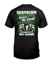 Scaffolder Classic T-Shirt back