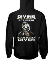 Diver Hooded Sweatshirt back