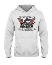 Basset Hound Hooded Sweatshirt thumbnail
