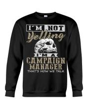 Campaign Manager Crewneck Sweatshirt thumbnail