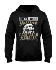 Campaign Manager Hooded Sweatshirt front