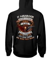 It Manager Hooded Sweatshirt back