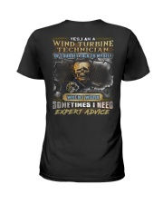 Wind Turbine Technician Ladies T-Shirt thumbnail