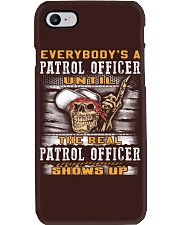 Patrol Officer Phone Case thumbnail