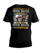 Patrol Officer V-Neck T-Shirt thumbnail