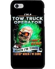 Tow Truck Operator Phone Case thumbnail