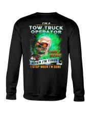 Tow Truck Operator Crewneck Sweatshirt thumbnail