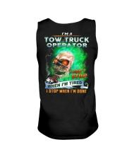 Tow Truck Operator Unisex Tank thumbnail