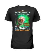 Tow Truck Operator Ladies T-Shirt thumbnail
