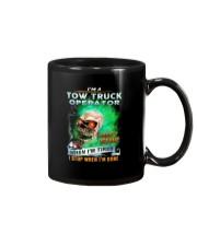 Tow Truck Operator Mug thumbnail