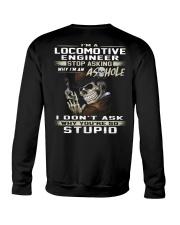 Locomotive Engineer Crewneck Sweatshirt thumbnail