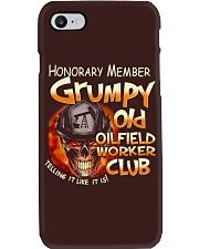Oilfield Worker Phone Case thumbnail