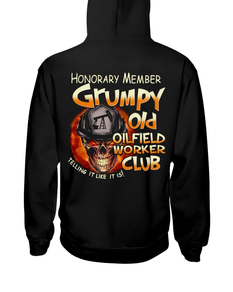 Oilfield Worker Hooded Sweatshirt