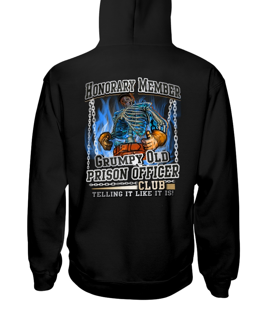 PrisonOfficer-grumpy2 Hooded Sweatshirt