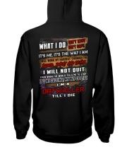 Drywaller Hooded Sweatshirt back