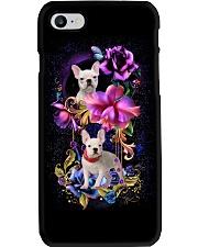Frenchie Dog Flower Phone Case Phone Case i-phone-7-case