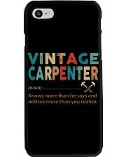 Vintage Carpenter Carpentry Jobs Phone Case thumbnail