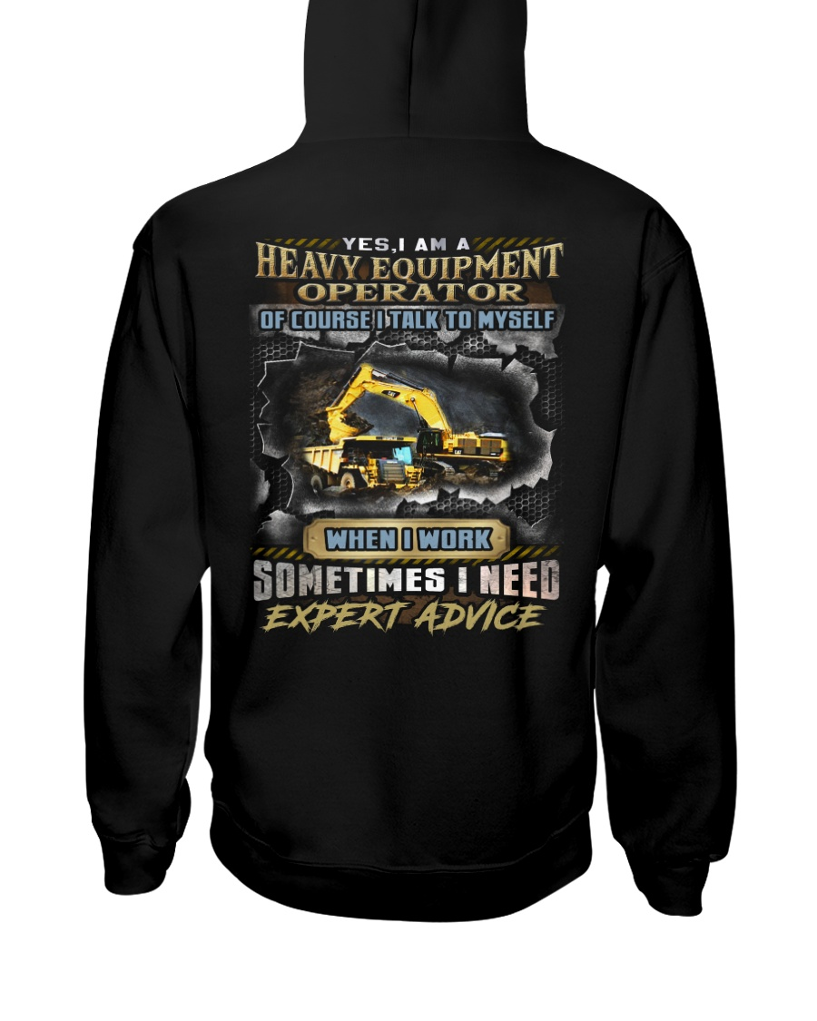 Heavy Equipment Operator Hooded Sweatshirt