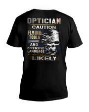 Optician V-Neck T-Shirt thumbnail
