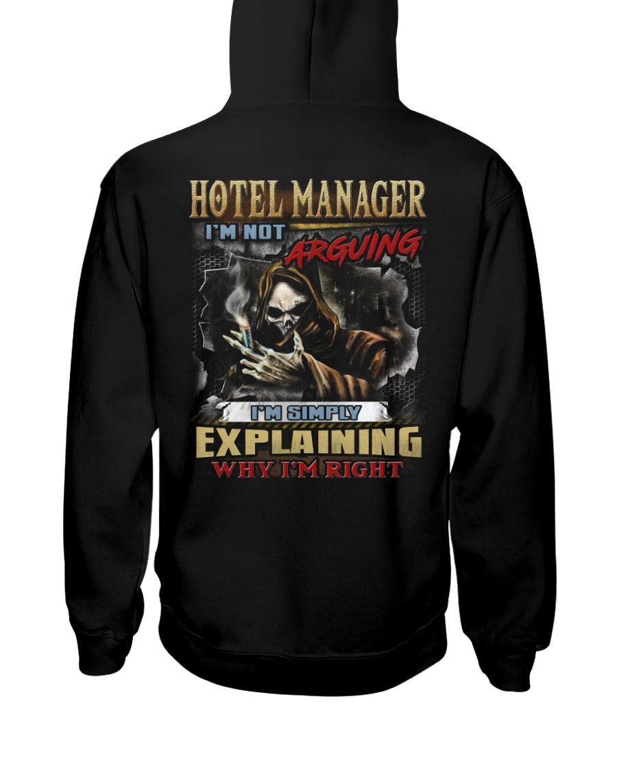 Hotel Manager Hooded Sweatshirt