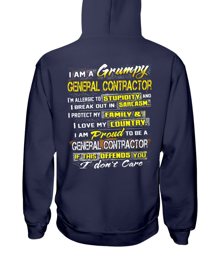 General Contractor Hooded Sweatshirt