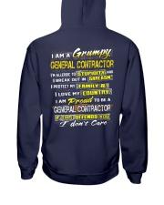 General Contractor Hooded Sweatshirt back