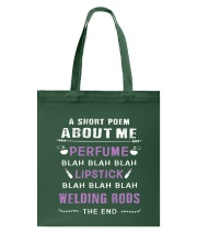 WELDER EXCLUSIVE SHIRT Tote Bag thumbnail