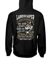 landscaper Hooded Sweatshirt back