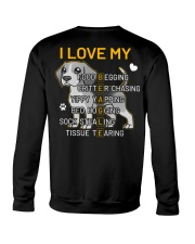 I Love My Beagle Dog Crewneck Sweatshirt thumbnail