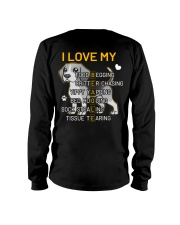 I Love My Beagle Dog Long Sleeve Tee thumbnail