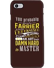 FARRIER SHIRT Phone Case thumbnail