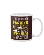 FARRIER SHIRT Mug thumbnail