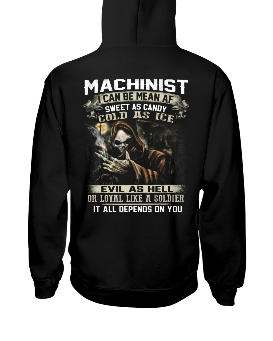 Machinist Hooded Sweatshirt