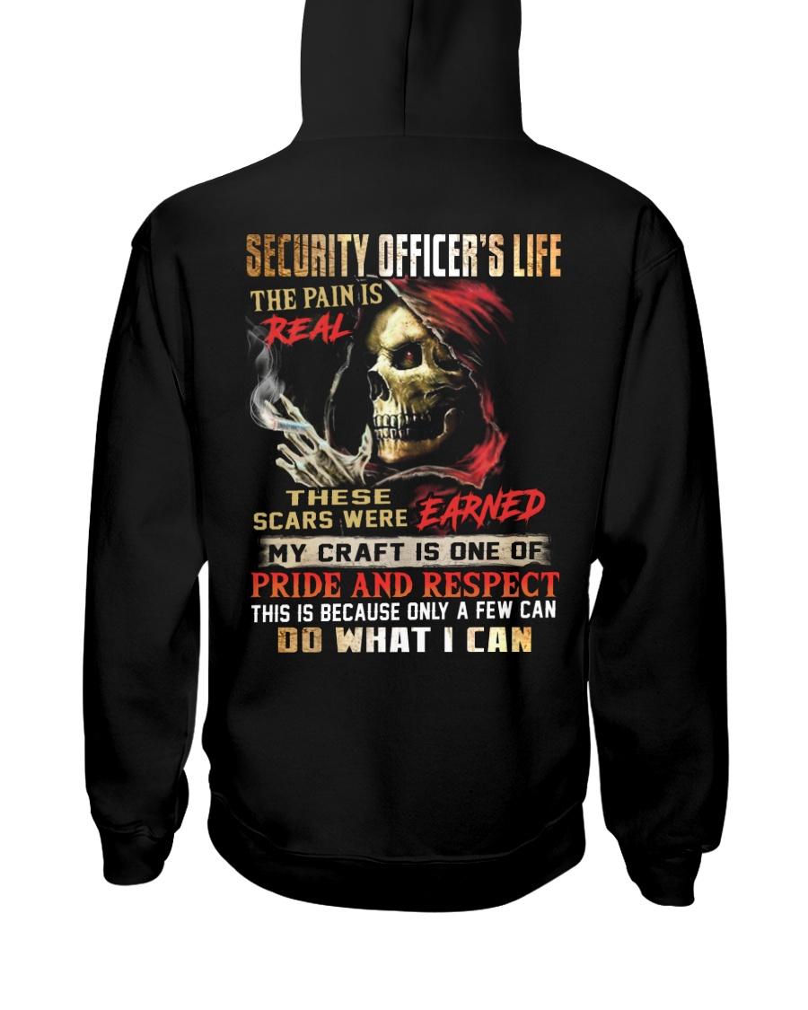 Security Officer Hooded Sweatshirt