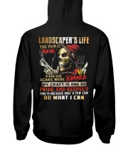 Landscaper Hooded Sweatshirt back