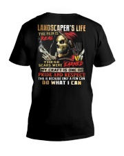 Landscaper V-Neck T-Shirt tile