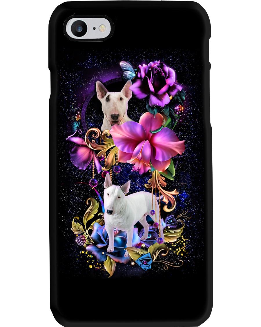 Bull Terrier Dog Flower Phone Case Phone Case