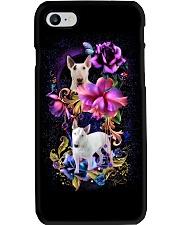 Bull Terrier Dog Flower Phone Case Phone Case i-phone-7-case