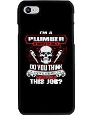 Plumber Exclusive Shirt Phone Case thumbnail