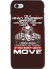 Heavy Equipment Operator Exclusive Shirt Phone Case thumbnail