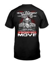 Heavy Equipment Operator Exclusive Shirt Classic T-Shirt thumbnail