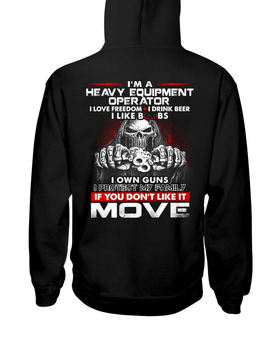 Heavy Equipment Operator Exclusive Shirt Hooded Sweatshirt