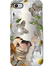 Bulldog Flower Phone Case Phone Case i-phone-8-case