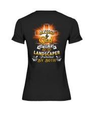 Landscaper Landscaping Landscape Job Shirt Premium Fit Ladies Tee tile