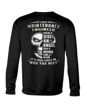 Maintenance Engineer Crewneck Sweatshirt thumbnail