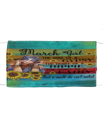 March Girl Face Mask