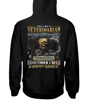 Veterinarian Hooded Sweatshirt back