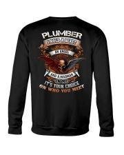 Plumber Crewneck Sweatshirt thumbnail