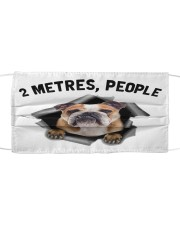 Bulldog 6 - 2 Metres People Cloth face mask front
